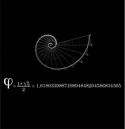 """The Fibonacci Sequence is a sequence of numbers where each number is the sum of the previous two—i.e., 0, 1, 1, 2, 3, 5, 8, 13, 21, 34…and so on to infinity. The ratio of one number to the next is approximately 1.61803, which is called """"phi"""", or the Golden Ratio. It's not a magical mathematical equation of the universe, but it definitely reflects natural, aesthetically beautiful patterns. The ratio been used as the ideal proportion standard by artists and architects throughout history"""