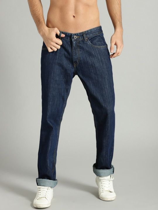 77288b30f8a Roadster Men Blue Slim Fit Mid-Rise Clean Look Jeans -   599   Jeans ...