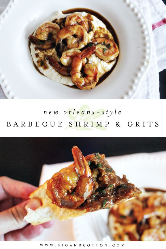Barbecue Shrimp | Cheese Grits | Mr. B's BBQ Shrimp | NOLA Barbecue ...