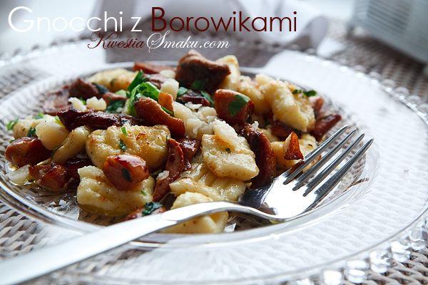 Gnocchi with Porcini Mushroom