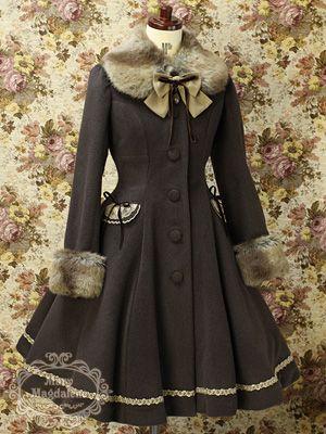 Mary Magdalene - Plarinetta Coat (Brown)