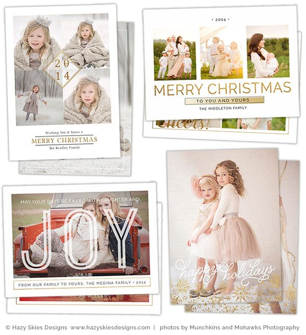 Best Holiday Templates For Photographers Images On Pinterest - Christmas card templates for photographers 2