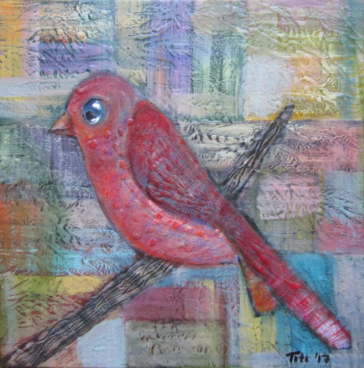 Bird in autumn