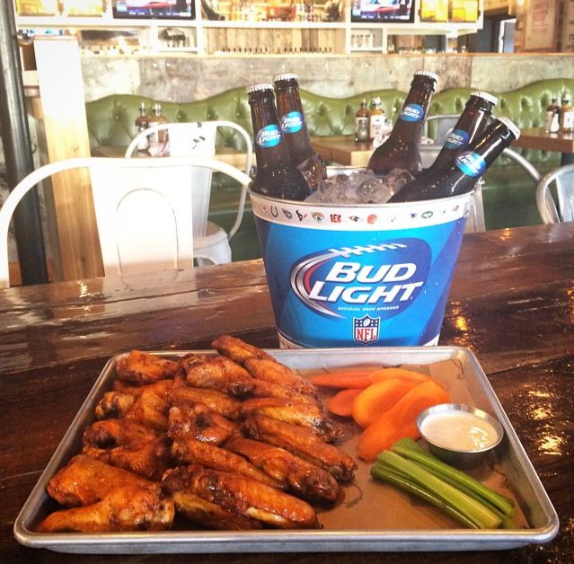 Team Up NFL Viewing with $20 Bucket of Beer and Wings Special on Monday Nights at Smokebelly