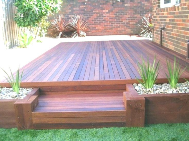 20 Gorgeous Small Wooden Deck Ideas For Small Backyards
