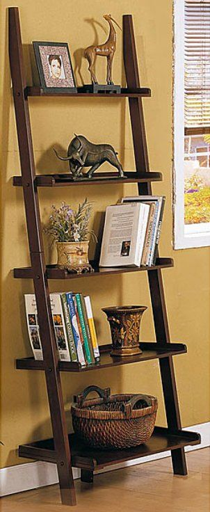 25 best ideas about ladder shelf decor on pinterest