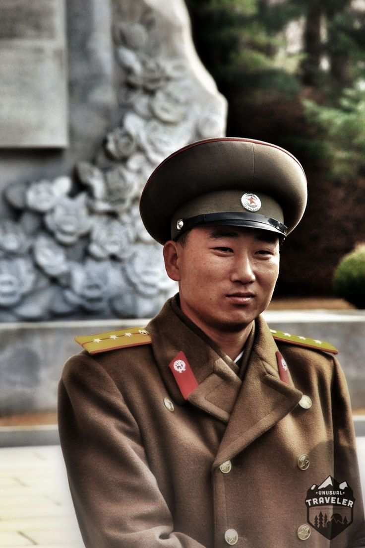 A North Korean solider, in North Korea, A Friendly solider that spoke very good English and wanted to talk football. This is part two in my new series of beautiful people that I have met around the… #North_korea #portrait
