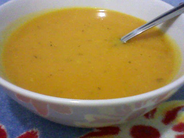Receita de Sopa creme de abóbora - Tudogostoso