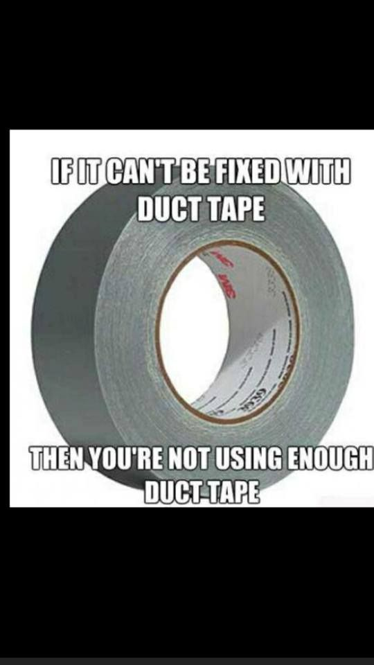 Best Duct Tape Images On Pinterest Bacon Bacon Duct Tape And - 22 insanely useful things can duct tape