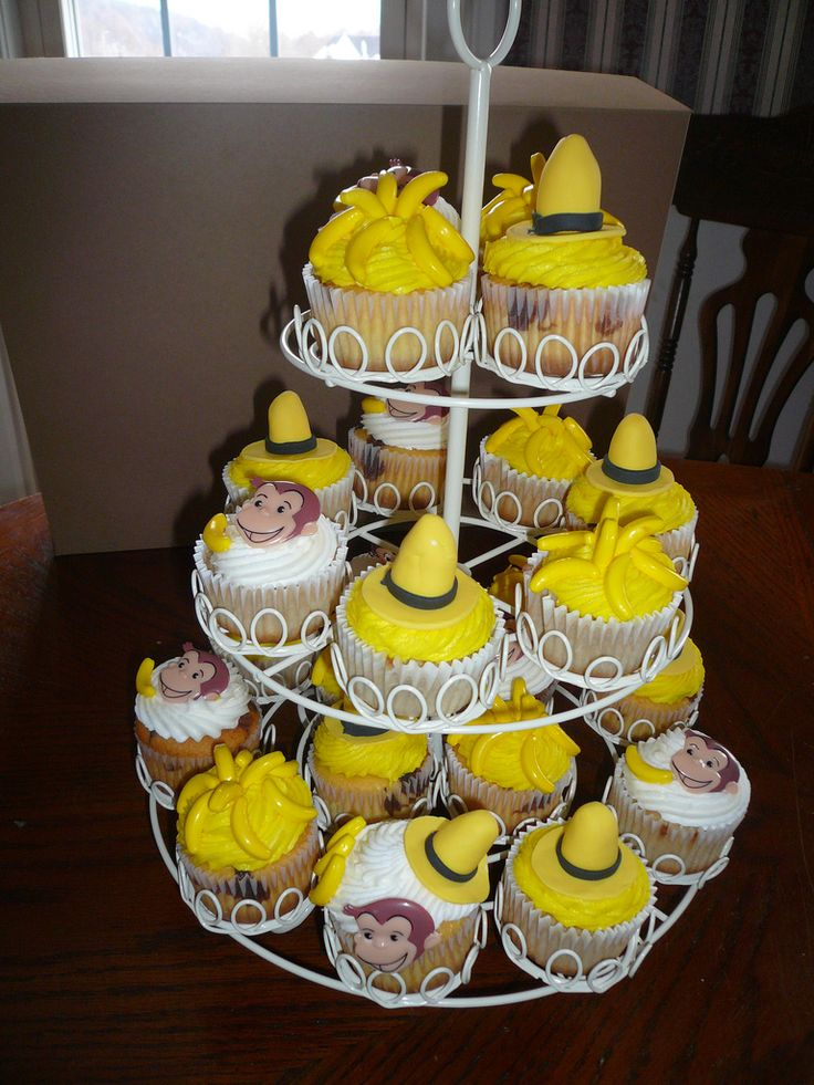 Curious George Cupcakes | Flickr - Photo Sharing!