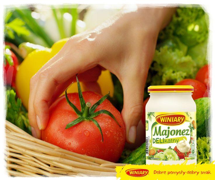Wiecie, że tegoroczne lato jest pod znakiem Majonezu Delikatnego? Nowy majonez WINIARY ma delikatną konsystencję i smak, który świetnie pasuje do świeżych warzyw!