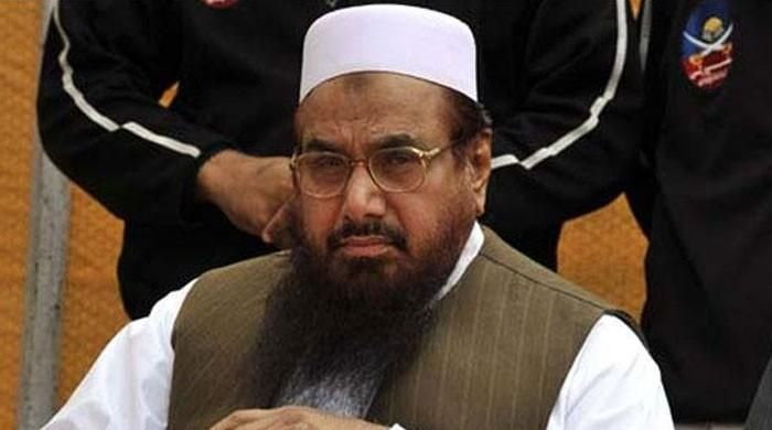 Hafiz Saeed placed under house arrest, blamed pressure from India given his advocacy of the Kashmir issue