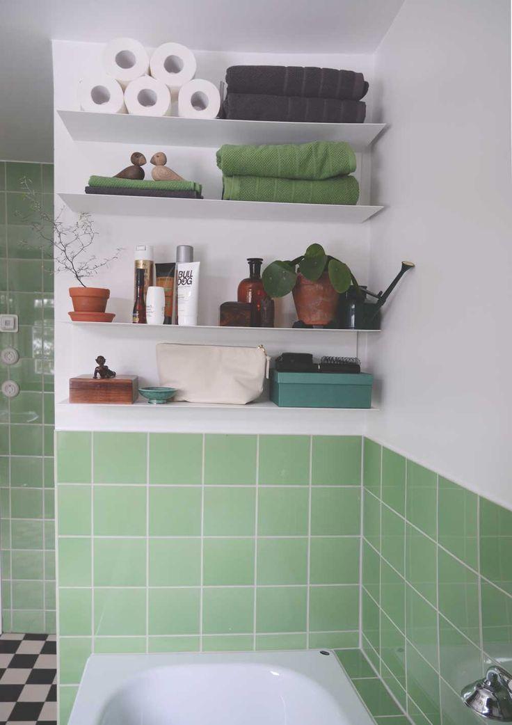 När vi nu totalrenoverat vårt badrum blir allt så viktigt. I mina tidigare hem så har badrummen aldrig behövts renovera så den krok eller hylla som funnits har fått leva kvar, målats om eller ersatts...