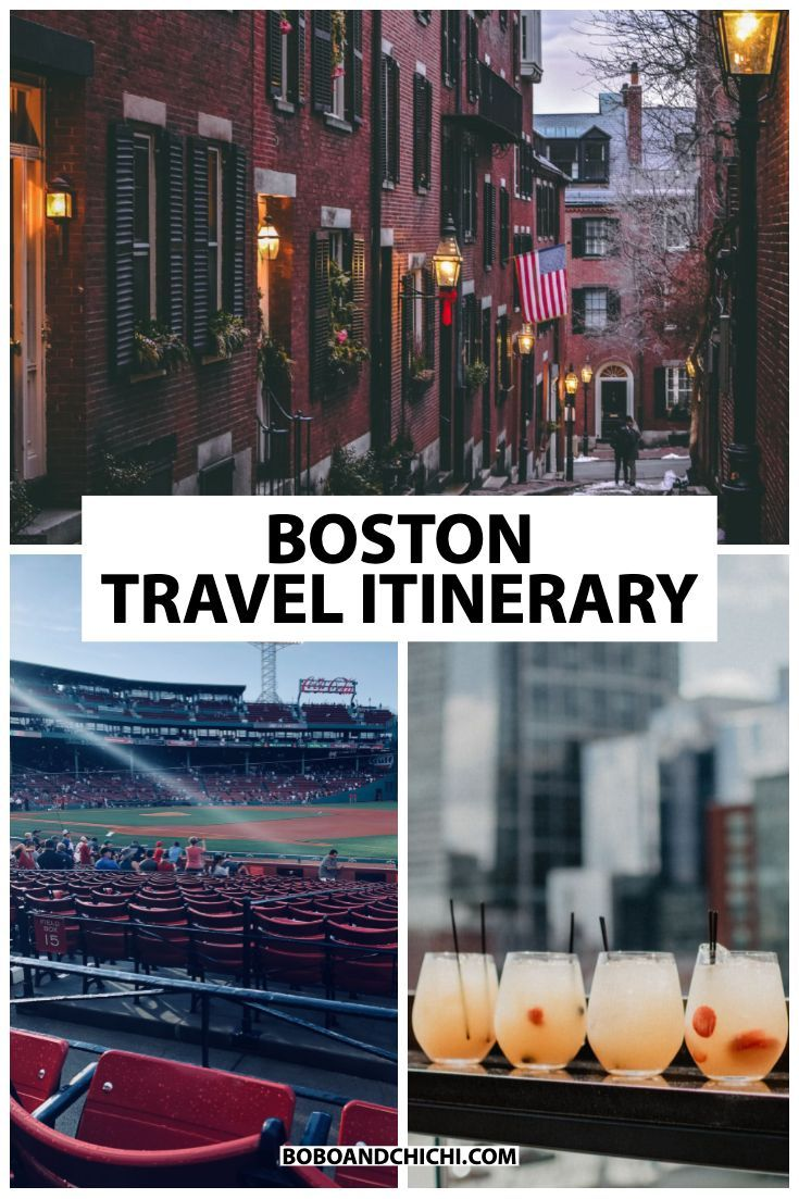 The Perfect Itinerary For 3 Days In Boston Boston Vacation