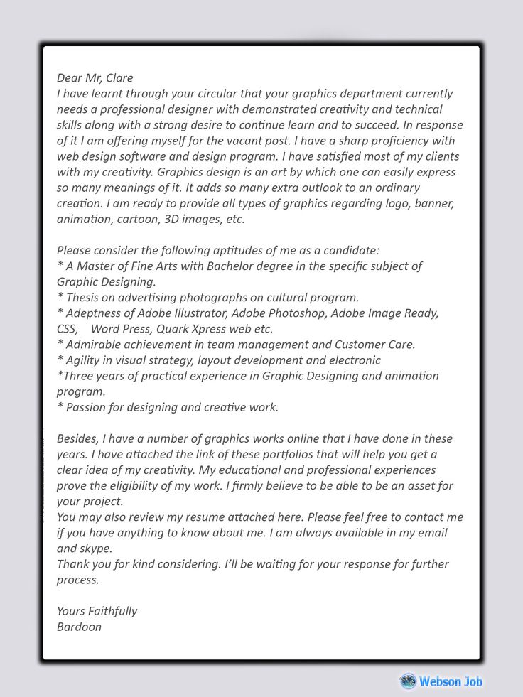 graphic design cover letter sample for upwork proposal in description receptionist job resume personal introduction cv objective warehouse