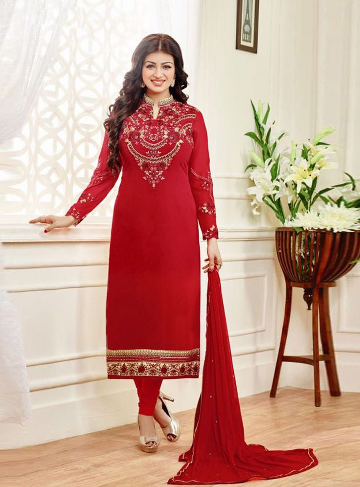 62 best Bollywood Churidar Salwar Kameez images on Pinterest ...