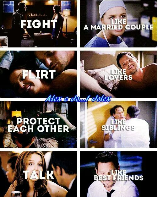 Grey's Anatomy: Jo Wilson & Alex Karev