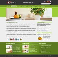 Lexon-YellowGreen Skin // SEO Menu // W3C Xhtml
