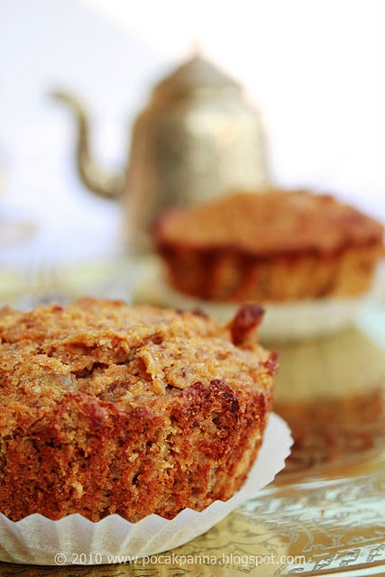 Revolutionized carrot muffins (gluten-, lactose-and sugar-free)