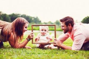 Familiefoto met peuter
