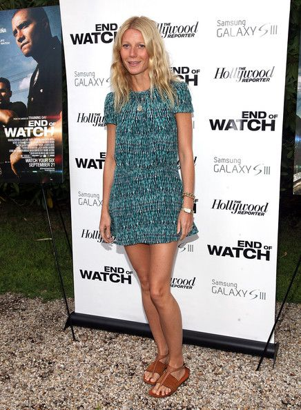 Gwyneth Paltrow at the End of Watch screening in East Hampton-New York, August 2012