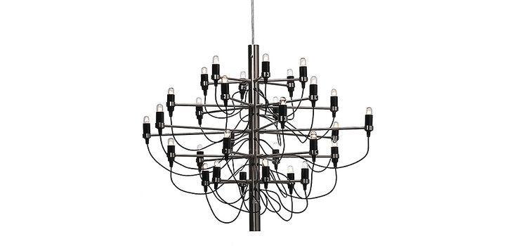 Lustre 2097 Gino Sarfatti Style - Grand Modèle
