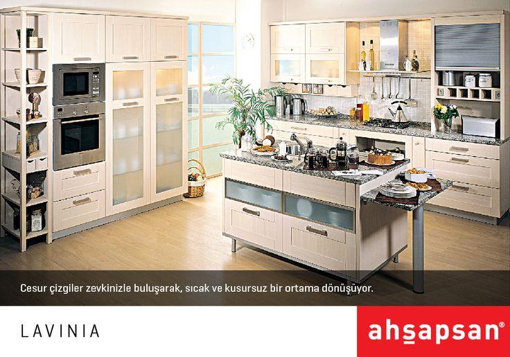 LAVINIA  #AHŞAPSAN #Mutfak #MutfakTasarımı #Mobilya #MutfakMobilyaları #KitchenDesign #Kitchen