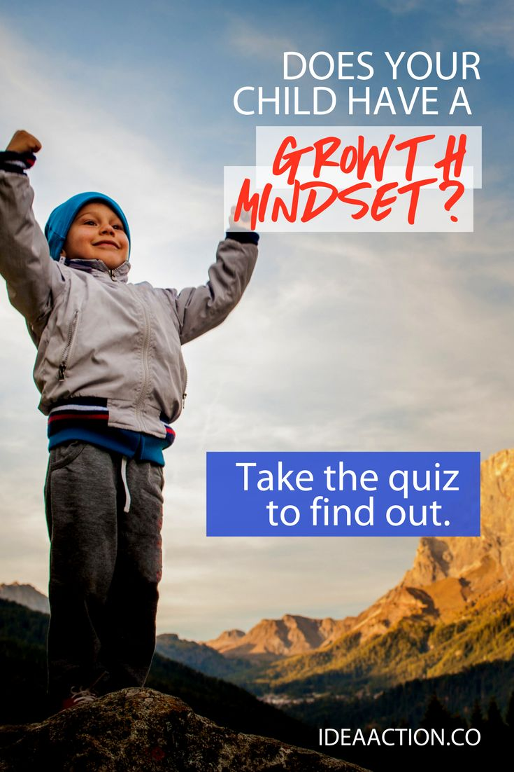 Free quiz at the link - find out which Growth Mindset traits your child has. #GrowthMindset #InspirePossibility