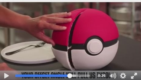 Pokeball cake tutorial