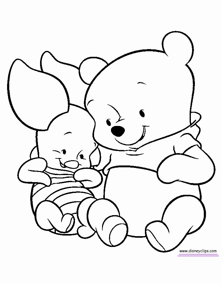 Winnie The Pooh Summer Coloring Pages Designs Collections