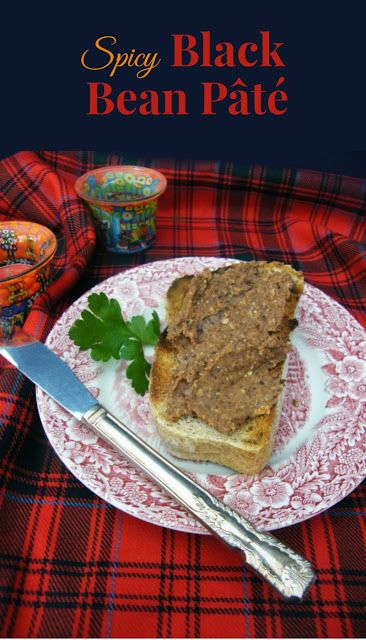 The perfect recipe for New Years Eve or Hogmanay as we call it here in Scotland. A rich velvety pâté made with black beans. Made in minutes, but it will sit happily in the fridge for a few days in an airtight container and the flavour gets better and better. Great for the festive season, served on oat cakes or thick slices of bread toasted and rubbed with a cut clove of garlic..This recipe is dairy free and suitable for vegetarians and vegans