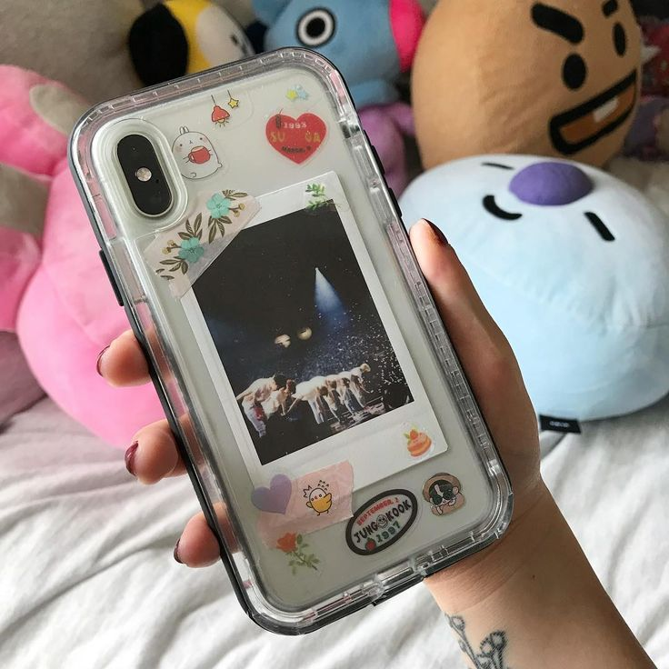 love the back of my phone case ☺️💌 (the pol…