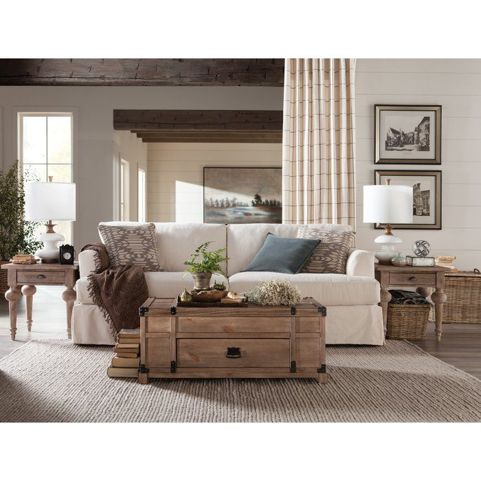 Kanagy Coffee Table With Storage Living Room Decor Traditional