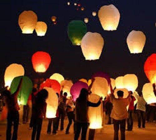 Tutorial Cara Membuat Lampion Terbang dari Kertas Minyak   Zona Kreatif
