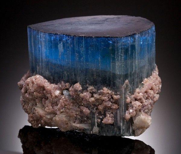 Massive Blue Tourmaline / Mineral Friends <3