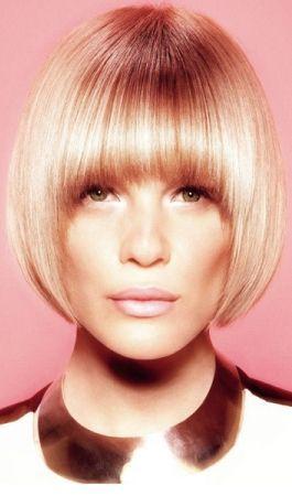 # 60s inspiriert #blonde Bob Haare schneiden und färben –  – #Kurzhaarfrisuren