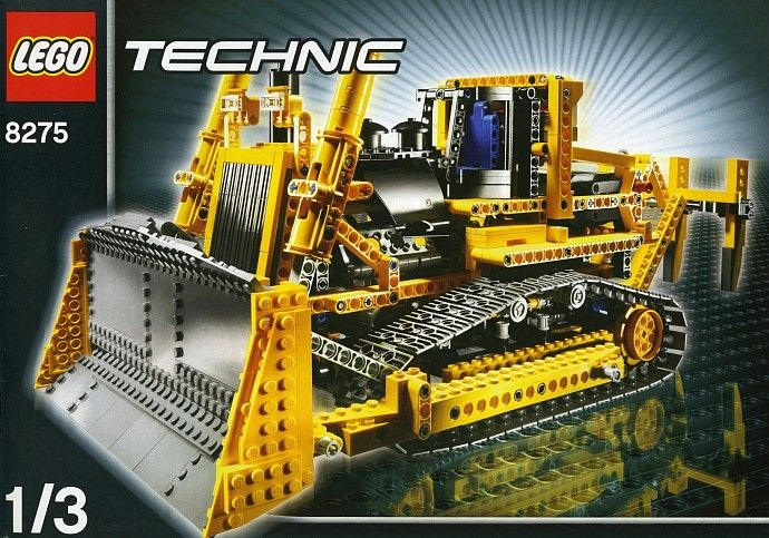 lego 8275 bulldozer (part of my collection)