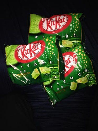 Japanese Kit Kat - Maccha Green Tea Bag 4.91 oz Nestle http://www.amazon.com/dp/B007OVX77G/ref=cm_sw_r_pi_dp_mC49tb0D2JWAK