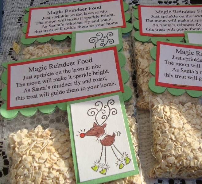 Magic Reindeer Food---I make this every year.  Such a fun idea!: Holidays Ideas, Fun Ideas, Gifti Ideas, Photo, Christmas Ideas