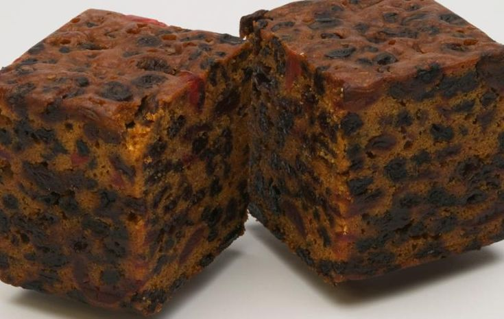 Fruit Cake Used As Doorstop
