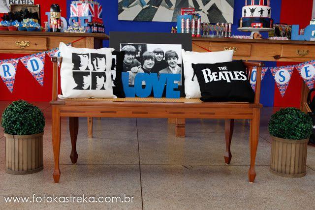 Encontrando Ideias: Festa Beatles!!!