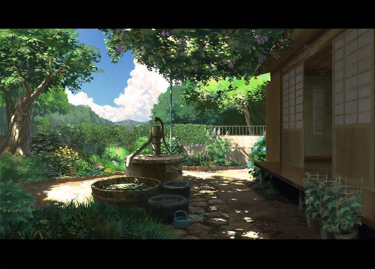 Anime Scenery <3