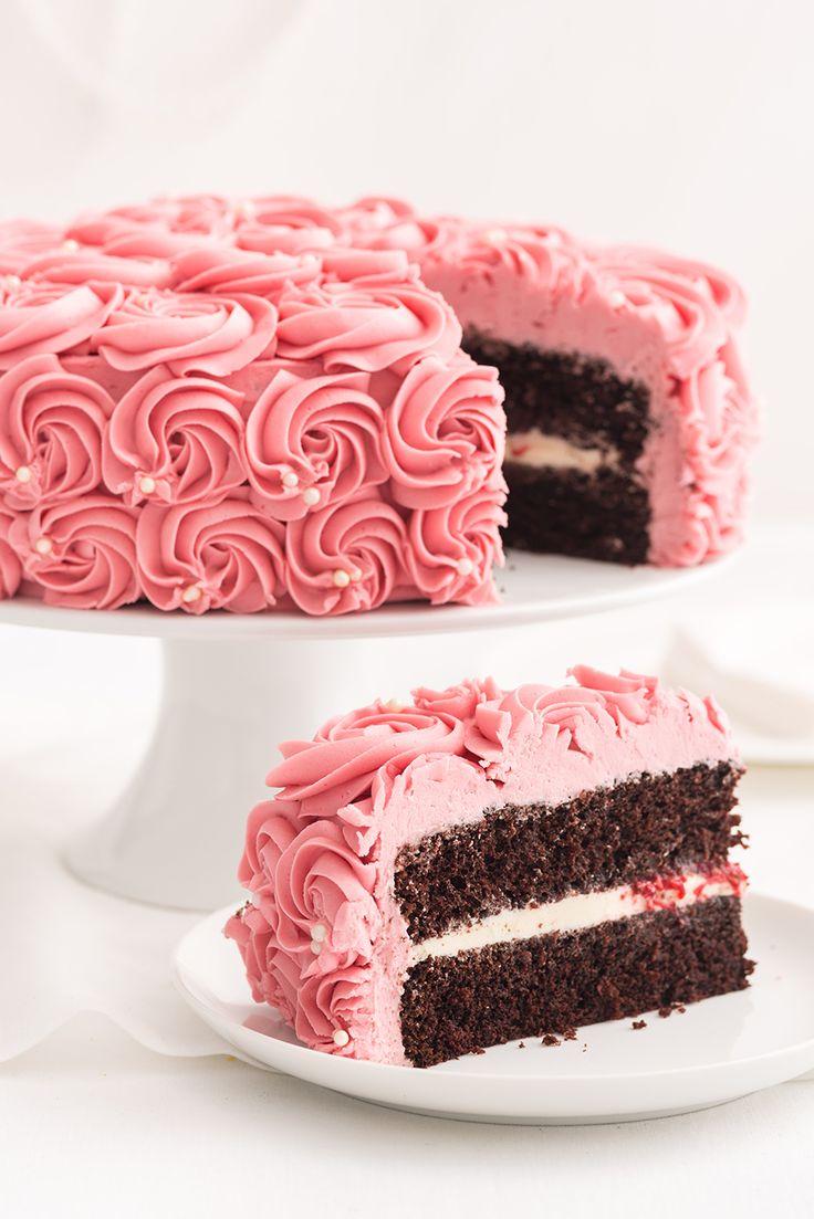 Raspberry Rose Best Chocolate Cake Cake Cupcake Cakes