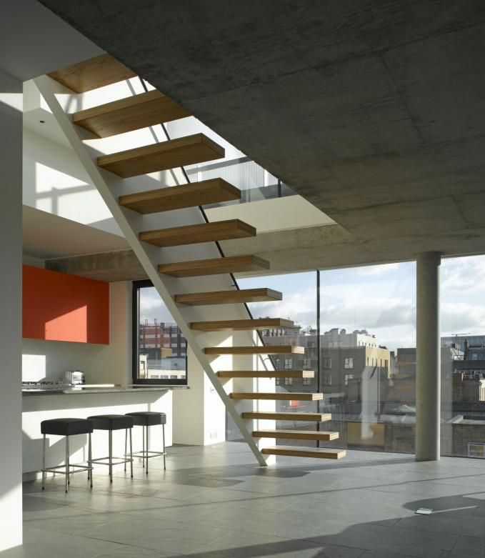 Best I Love Cantilevered Stairs Cantilevered Wooden Stair With 400 x 300