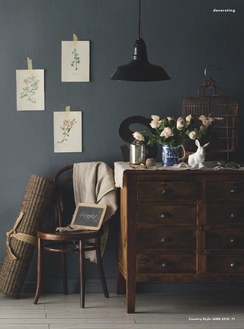 Best 25+ Dark grey walls ideas on Pinterest | Grey dinning room ...