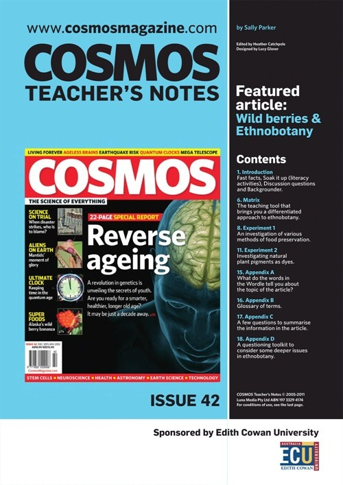 Teachers Notes INT : Issue 42, Wild berries and ethnobotany