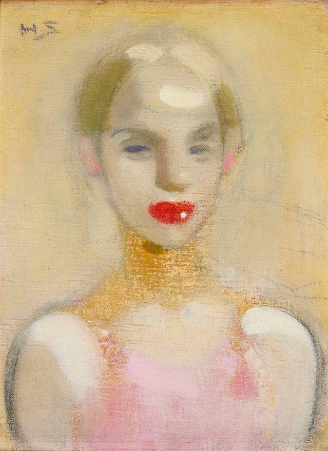 Circus Girl, Helene Schjerfbeck, 1916.
