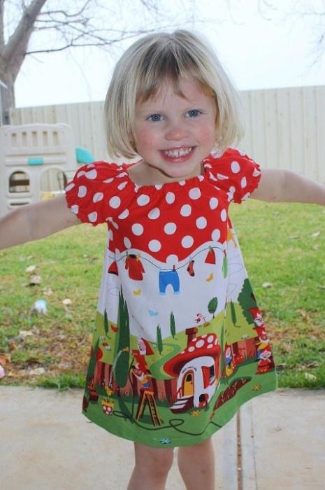 Gnomesville Lucy Dress     http://www.facebook.com/media/set/?set=a.423115456319.212425.325318651319=3