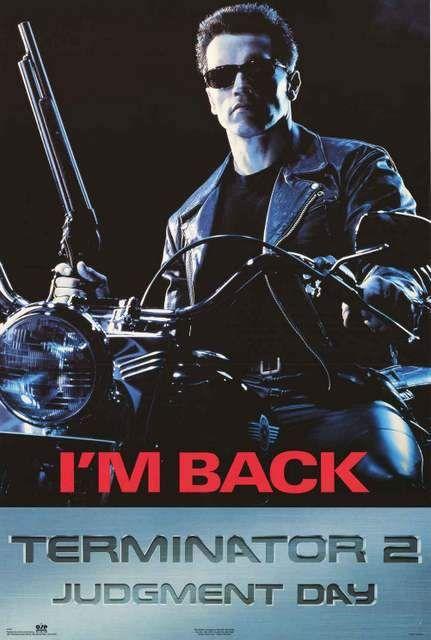 Terminator 2: Judgement Day Movie Poster 23x35