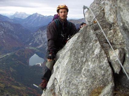 Klettersteig: Eisenerzer Steig - Klettersteig in Österreich, -Steiermark im Gebirge/Berg Hochschwab-Gruppe/Pfaffenstein Westgipfel